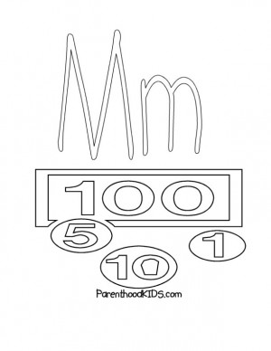 letter m coloring pages. coloring page letter m