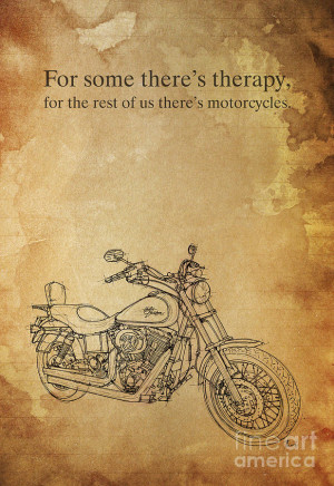 Harley Davidson Quote Painting