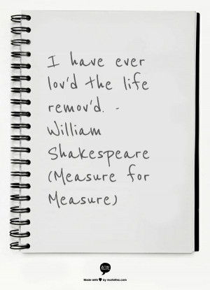 Shakespeares measure for measure essay