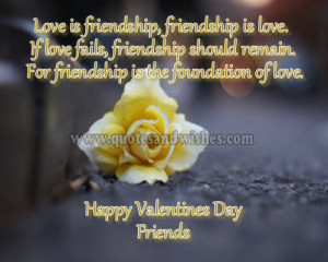 happyvalentinefriends1 Happy Valentines Day 2013 quotes for Friends ...