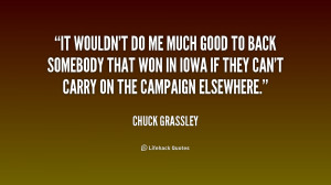 Chuck Grassley Quotes