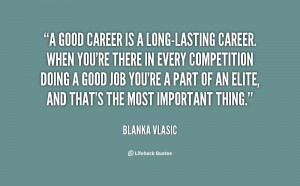 Good Career Quotes