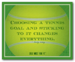 tennis quotes for motivation with tennis posters for visual ...