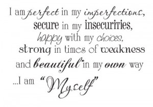 some of the great features of i am perfect 22x15 wall saying quotes ...