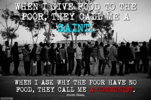 quoteporn:Revolution Through Peace, by Dom Helder Camara (Amazon)