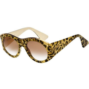 CHRISTIAN LACROIX VINTAGE leopard print sunglasses ($300) liked on ...