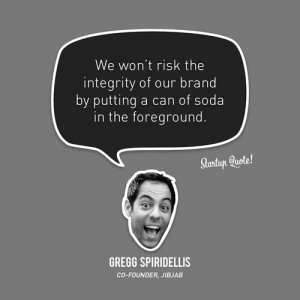 We won't risk the integrity of our brand by putting a can of soda in ...