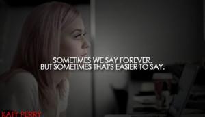 Katy Perry...
