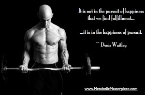 Motivational Fitness Quote from Denis Waitley