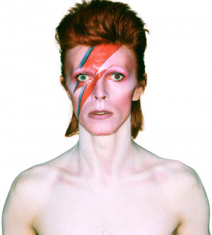 Album cover shoot for Aladdin Sane, 1973. Photograph by Brian Duffy ...