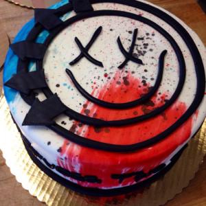 Blink 182 Cake!