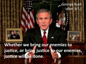 President Bush after 9/11