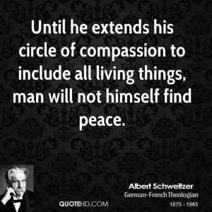 Albert Schweitzer Peace Quotes
