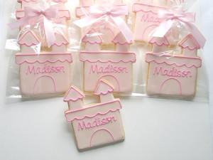 Princess Castle Cookies, Princess Cookies