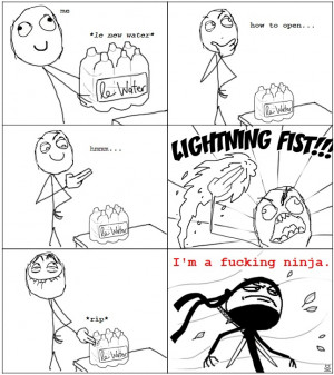 Lighting Fist - I Am A Ninja