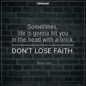 On Keeping the Faith