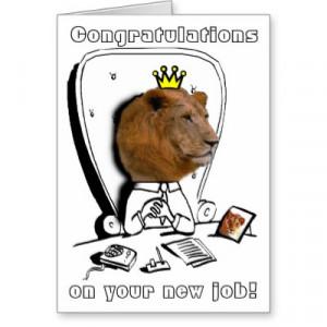 congratulations your new job quotes