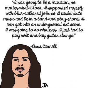 Chris Cornell Talks Longevity, In Illustrated Form