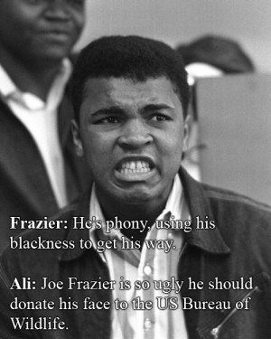 ... Comebacks In All Of Human History Muhammad Ali Vs. Joe Frazier