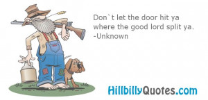 HillBilly Quotes and Sayings