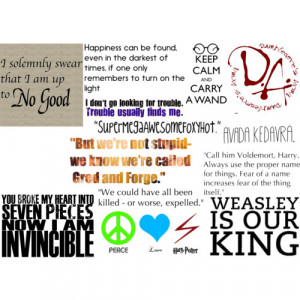 harry potter related quotes