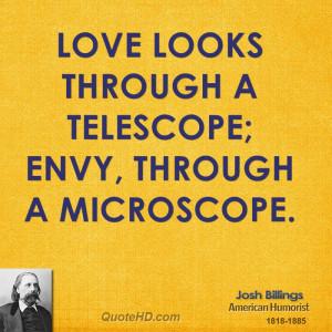 Josh Billings Love Quotes
