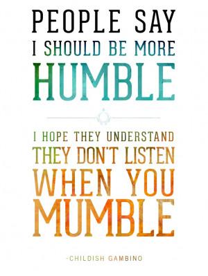 Childish Gambino Quotes Tumblr M6rg3v7mcw1r4grpqo1