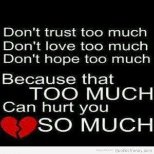 love trust hope Quotes