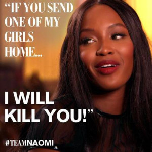 Best Naomi Campbell quotes from Sky Living's The Face UK