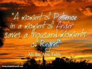 May God grant me more patience....