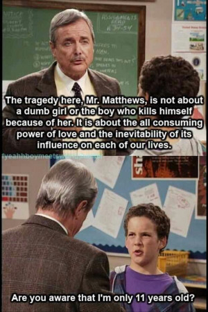 Boy meets world quotes