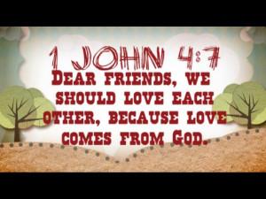 True Friends - Bible Memory Verse