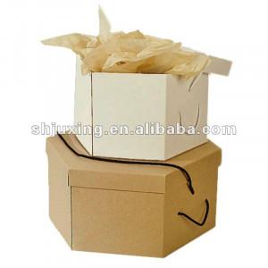decorative cardboard round hat boxes