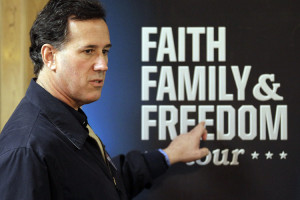 Rick Santorum is coming for your birth control