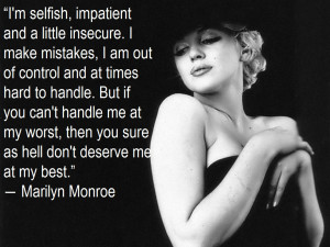 Marilyn Monroe Makeup Quotes