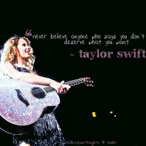 QUOTES OF TAYLOR SWIFT!!♥