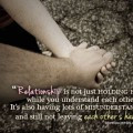 Relationship is not just holding hands quotes