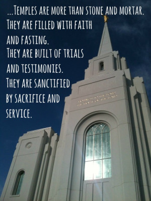 Young Mormons and the Temple