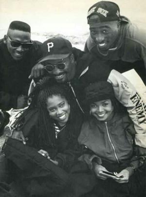 ... King, Janet Jackson & Tupac Shakur) with director John Singleton