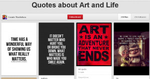 Image Quotes about Art