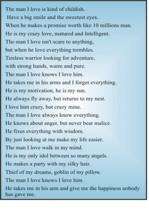 Funny Love My Husband Poems