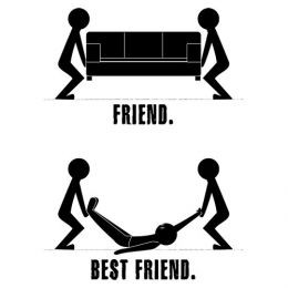 Friend And Best Friend