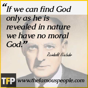 Reinhold Niebuhr Biography
