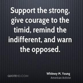 Whitney M. Young Quotes