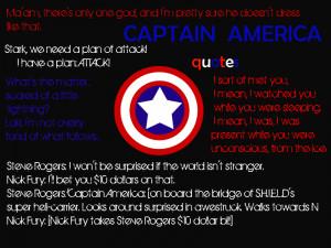 Captain America Quotes by Prinzesschen98