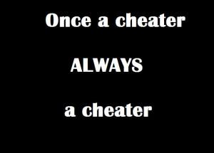 once a liar, always a liar