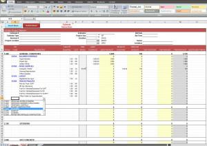 Excel Construction Estimate Template