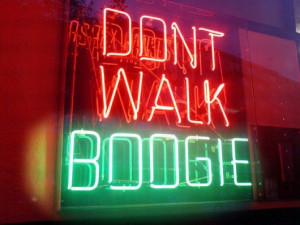 don't forget to boogie.
