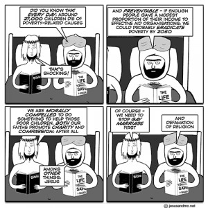 New comics by Jesus and Mo, Ape Not Monkey, and The Bad Chemicals!