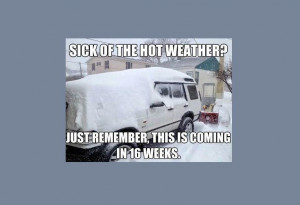 ... is why we should all stop complaining about the hot weather... image